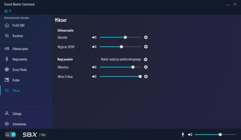 Creative SoundBlaster AE-7 - dźwiękowy mid-end za 1000 zł ?