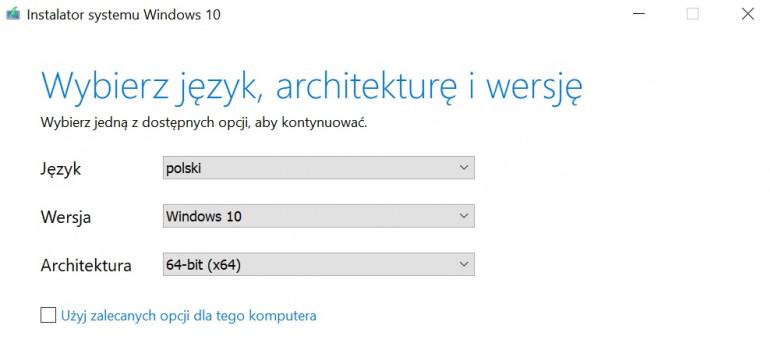 Windows 10 z pendrive'a - jak przygotować i zainstalować