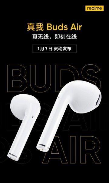 Realme Buds Air zmierzają do sklepów - sprzedaż na kolejnych rynkach od 7 stycznia