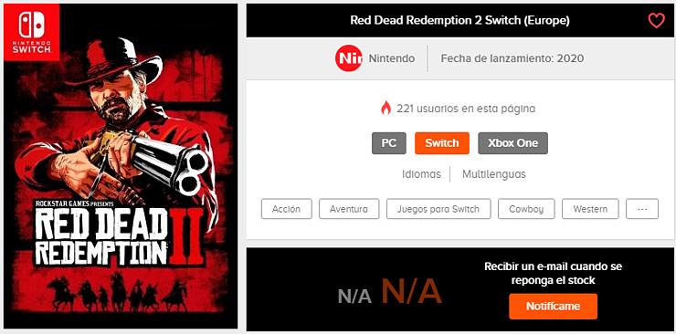 Red Dead Redemption 2 na Nintendo Switch coraz bardziej prawdopodobne