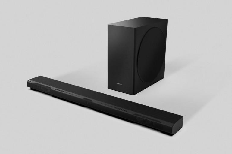 Najnowsze soundbary Samsunga będą współpracować z głośnikami w telewizorach