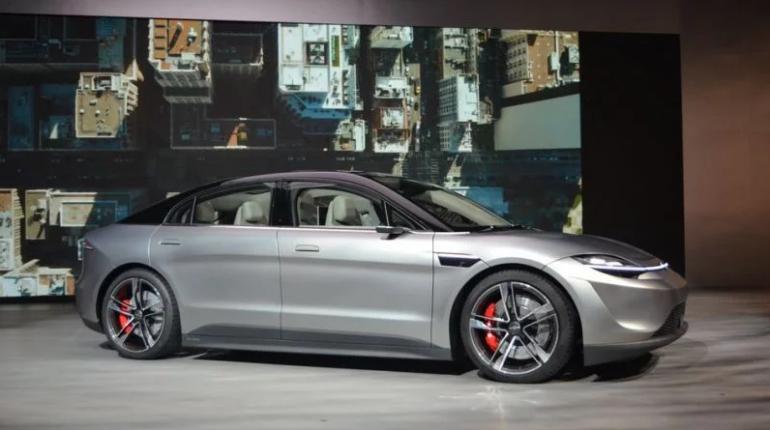 CES 2020 - Sony prezentuje elektryczny samochód Vision-S