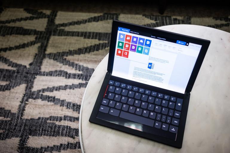 CES 2020: ThinkPad X1 Fold czyli składany tablet za 9,5 tys. zł