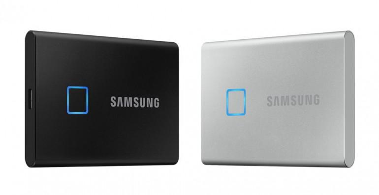 CES 2020 - Samsung wprowadza przenośne dyski SSD z czytnikiem linii papilarnych