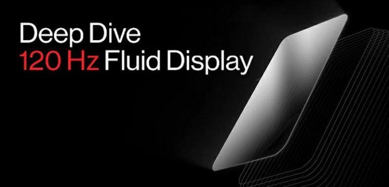 OnePlus prezentuje 120 Hz wyświetlacz Fluid Display