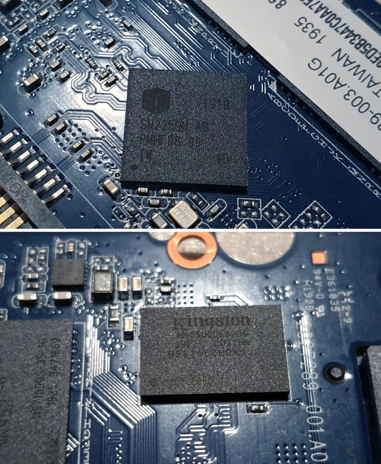 Test KINGSTON KC600 1TB - NAND 3D TLC z szyfrowaniem sprzętowym