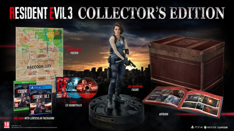 Resident Evil 3 - znakomita edycja kolekcjonerska trafi również do Europy