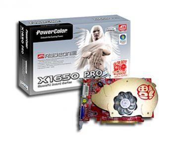 Radeon X1650 PRO marki PowerColor w wersji limitowanej na chiński Nowy Rok