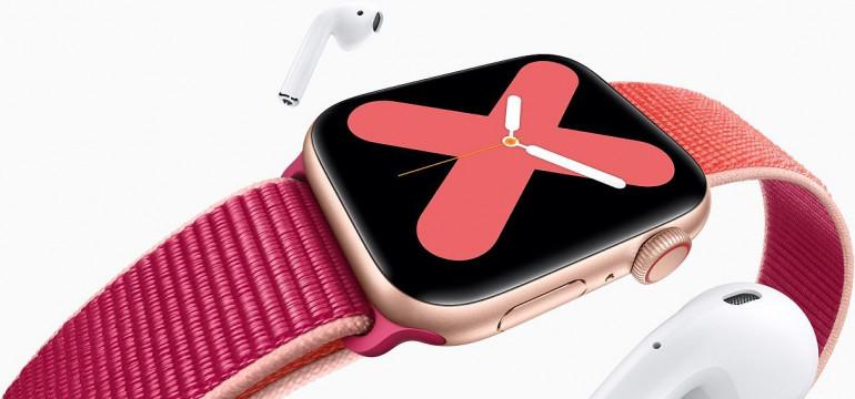 Apple Watch - kolejna generacja z płaskim ekranem i cyfrową koronką