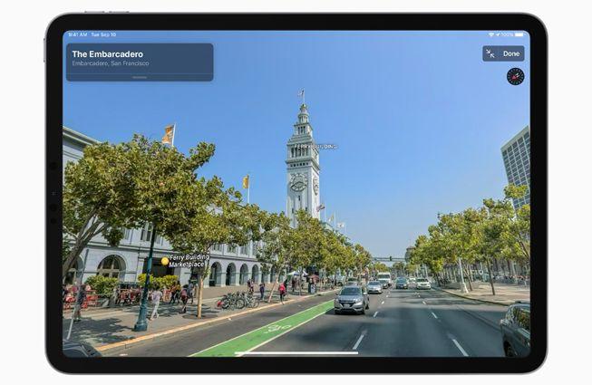 Apple całkowicie przeprojektowało Mapy, kiedy rozwiązanie dotrze do Europy?