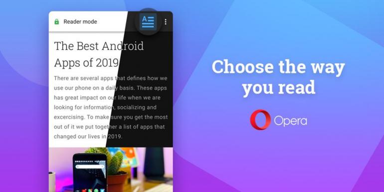 Opera 56 - nowa edycja przeglądarki na Androida