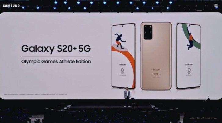 Samsung Galaxy S20+ Olympic Games Athlete Edition i Galaxy Z Flip Thom Brown Edition - limitowane wersje nowych flagowców