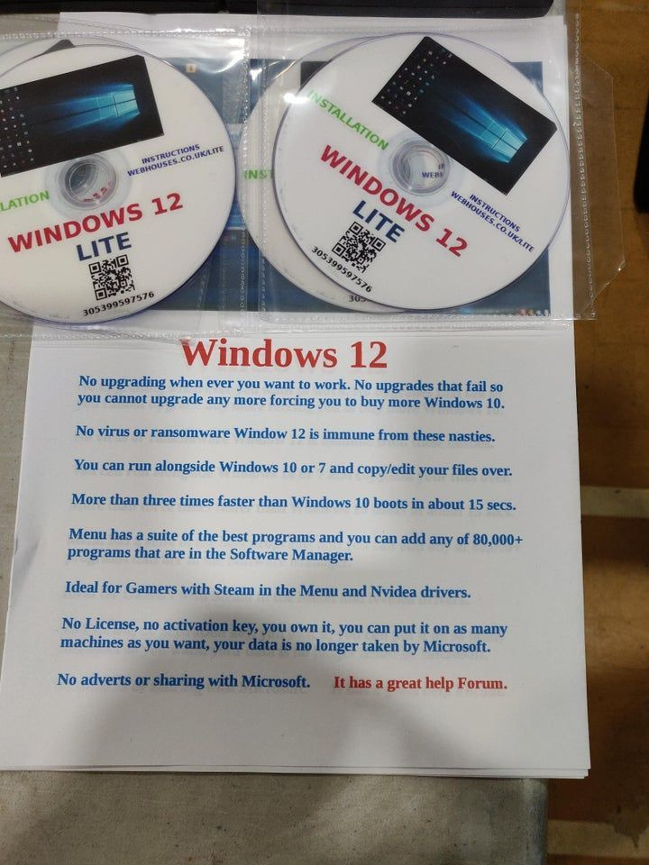 Windows 12 Lite - to nie żart, taki system można kupić