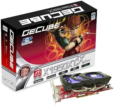 Gecube AGP 8X RX1950XT X