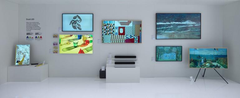Telewizory QLED 8K i 4K, telewizory lifestylowe, soundbary - Samsung prezentuje ofertę na 2020 rok!