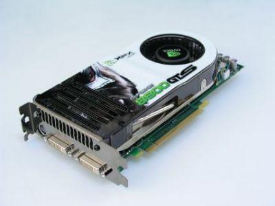 GeForce 8800 GTS 320 MB serii XXX firmy XFX to model o podniesionej częstotliwości taktowania rdzenia procesora i pamięci