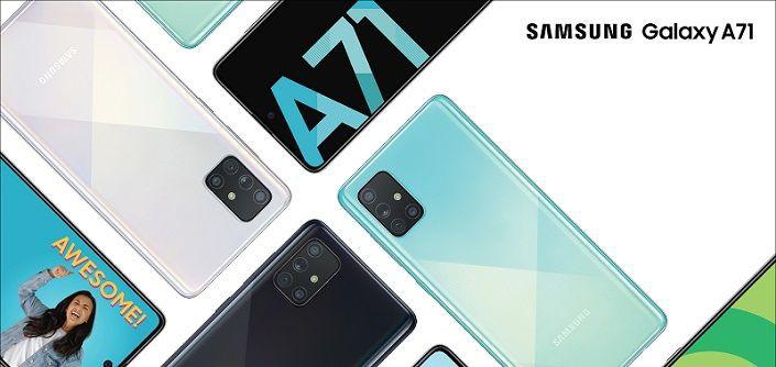 Samsung Galaxy A71 5G pojawia się w Geekbench
