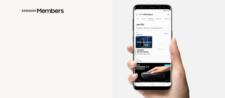 Samsung Members wkońcu z ciemnym motywem