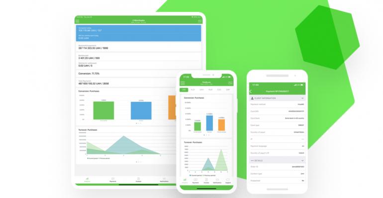 Aplikacja mobilna FONDY umożliwia zarządzanie płatnościami w sklepie bezpośrednio ze smartfonu lub tabletu. Źródło grafiki: blog FONDY.