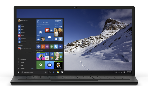 Odświeżone Menu Start Windowsa 10 bez Live Tiles