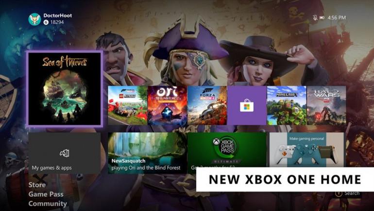 Xbox One otrzymuje nowe oprogramowanie - debiutuje odświeżony interfejs i inne nowośći