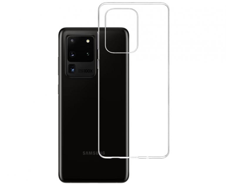 Samsung Galaxy S20 3mk Clear Case