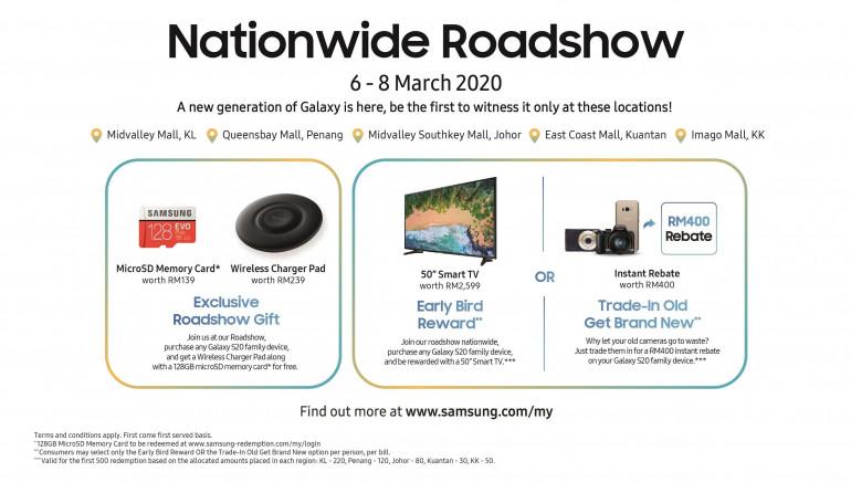 Malezyjscy klienci Samsunga mogą otrzymać telewizor przy zakupie najnowszych Galaxy S20