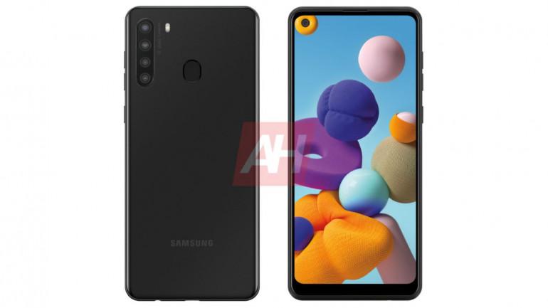 Samsung Galaxy A21 - przystępny cenowo smartfon z czterema aparatami w drodze