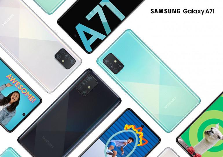 Samsung certyfikuje różne modele Galaxy A71 z 5G