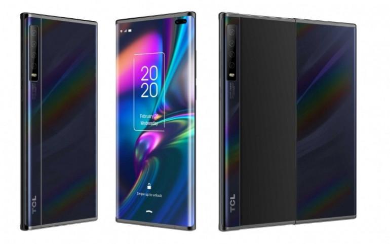 TCL prezentuje dwa składane smartfony z elastycznymi ekranami