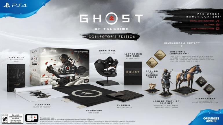 Ghost of Tsushima - wielki hit na PS4 z datą premiery! Zaprezentowano nowy zwiastun i zawartość edycji kolekcjonerskiej