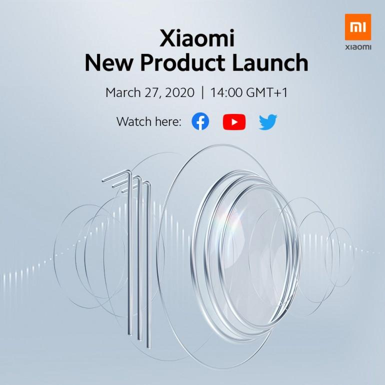 Xiaomi Mi 10 oraz Mi 10 Pro zadebiutują 27 marca