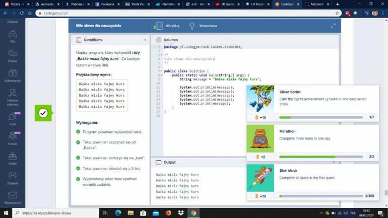 CodeGym - przyjazny kurs języka Java