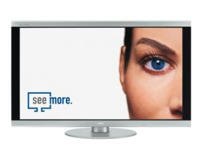 FullHD w wielkoformatowych monitorach NEC