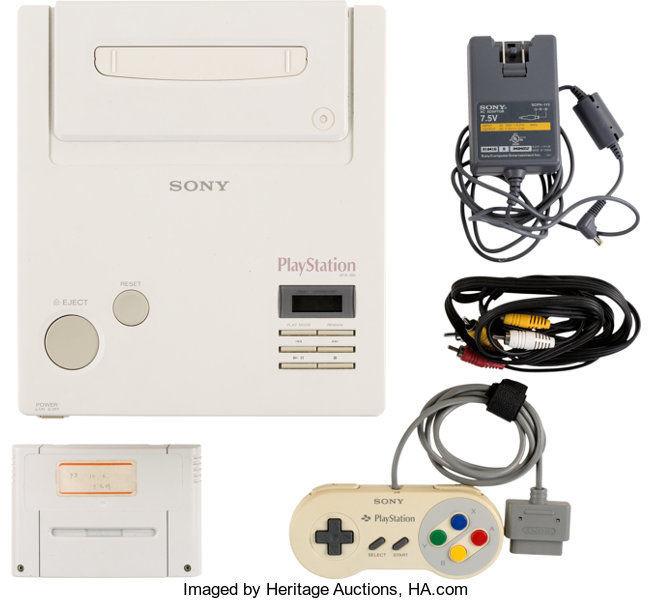 360 tys. dolarów za prototyp konsoli Nintendo Play Station