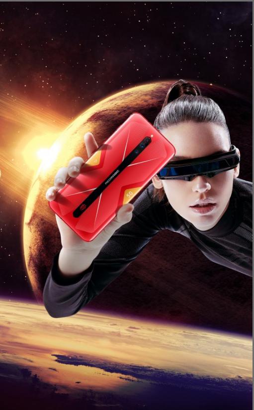 Red Magic 5G z próbkowaniem dotykowym 300 Hz