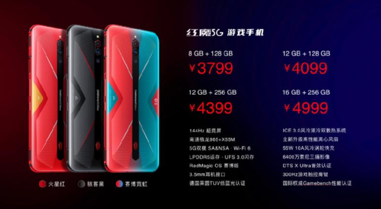Red Magic 5G - pierwszy w historii smartfon z odświeżaniem 144 Hz!