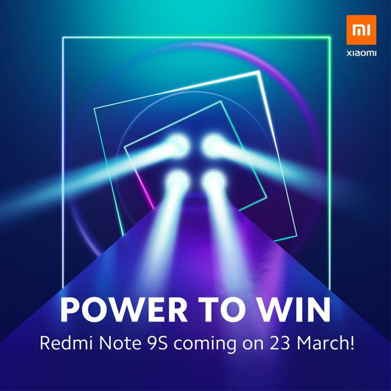 Redmi Note 9S zadebiutuje 23 marca