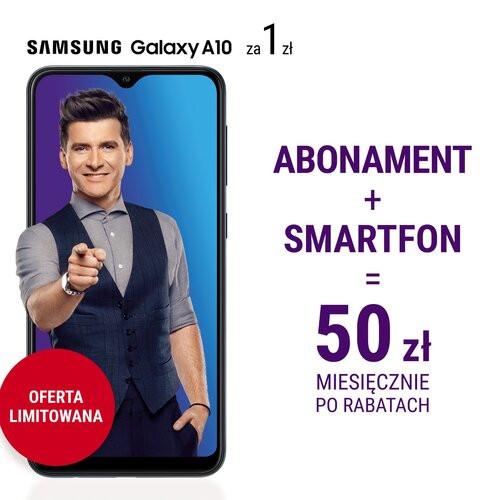 Nowa oferta w Play i Samsung Galaxy A10 za złotówkę