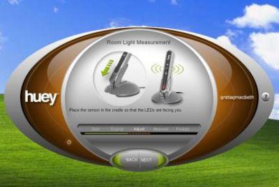 Kalibracja monitora Samsung SyncMaster XL20 przy użyciu dołączonego w zestawie sprzętowego kalibratora Gretag Magbeth Huey jest szybka i prosta