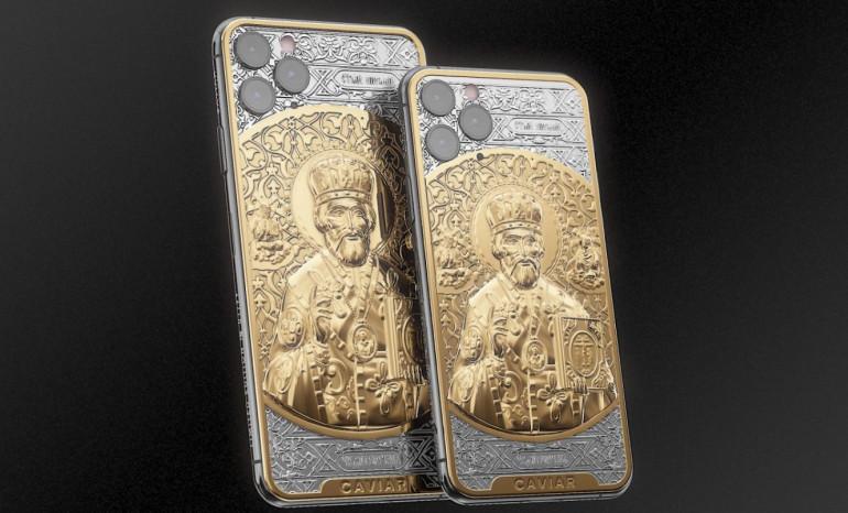 iPhone 11 Pro w srebrze i złocie, które mają powstrzymać koronawirusa