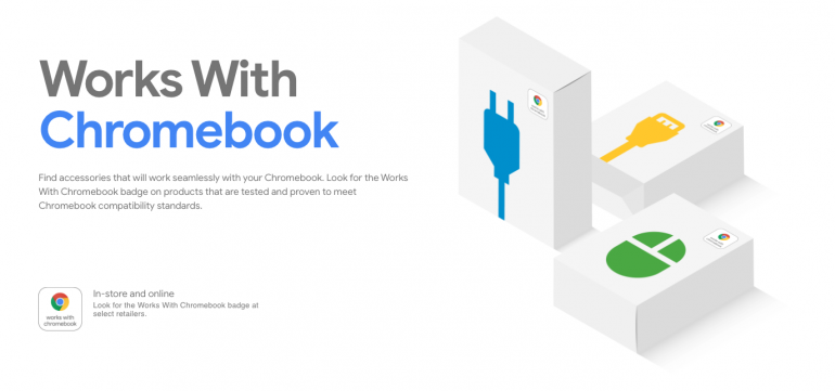 Google uruchamia Works with Chromebook - proces certyfikacji akcesoriów