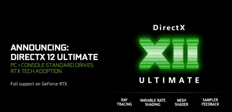 Karty graficzne GeForce RTX w pełni kompatybilne z DirectX 12 Ultimate