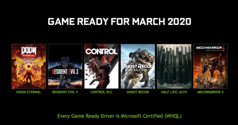Wiosenna aktualizacja sterowników Nvidia - wsparcie dla DirectX 12 Ultimate, nowe narzędzia RTX Dev Tools, DLSS 2.0 i wiele innych