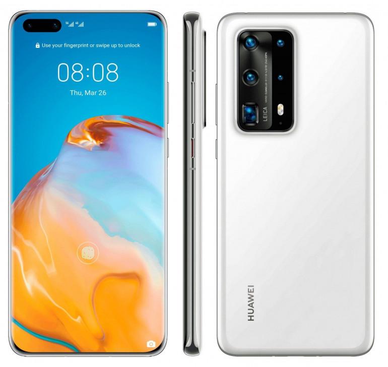 Huawei P40 Pro - wyciekła specyfikacja i rendery