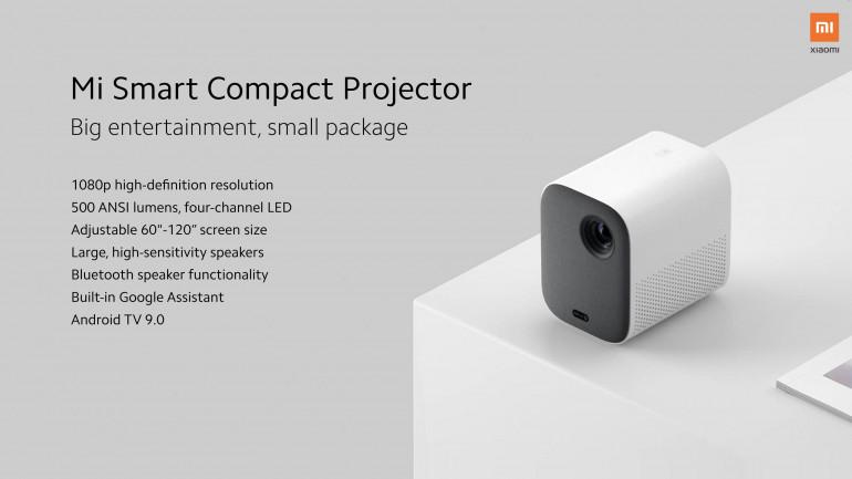 Xiaomi prezentuje Redmi Note 9s, przenośny projektor i odkurzacz ręczny