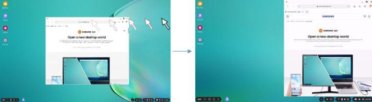 Samsung DeX - aktualizacja dla S20 przynosi praktyczne poprawki