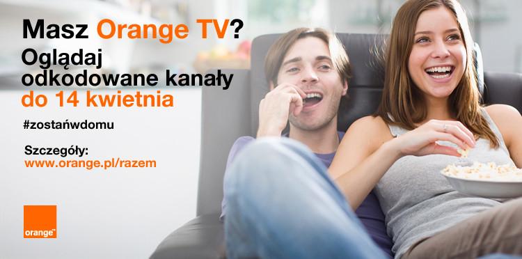 Kliencie Orange odbierz kolejne bonusy – 10 GB i dodatkowe kanały w Orange TV