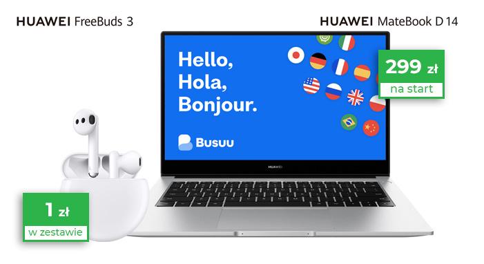 Plus oferuje użytkownikom 60GB internetu i laptopa Huawei