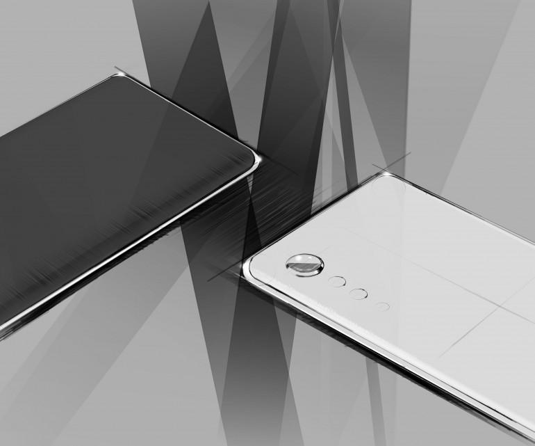 """LG prezentuje minimalistyczny desing smartfonów z aparatem """"Raindrop"""""""